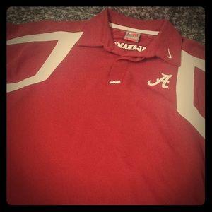 Nike Alabama TEAM Polo LIKE NEW